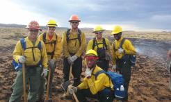 Interagency crew assigned in New Mexico.