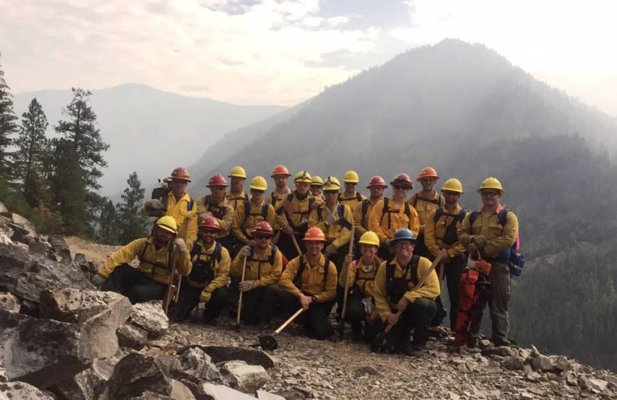 Crew in Montana.