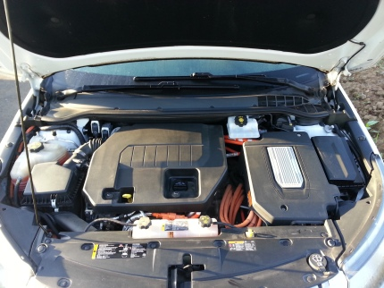 The engine of the Volt.