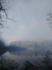 Smoke from the fires over Chenoa Lake in KY. Photo by Brandon Howard.