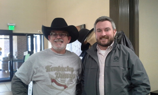 Neville and Agriculture Commissioner Ryan Quarles