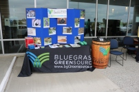 The Bluegrass Greensource display.