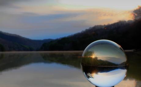 Ratliff's winning photo, 'Sunrise at Jenny Wiley State Park.'