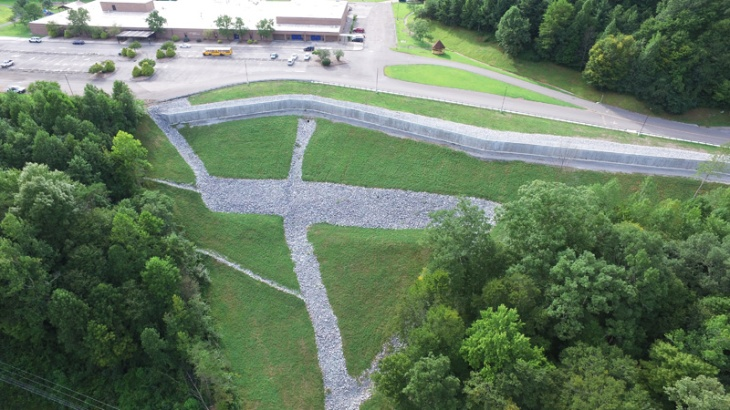 Bell Co school project completed.