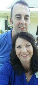 Anthony Wooldridge and his wife, Amanda.