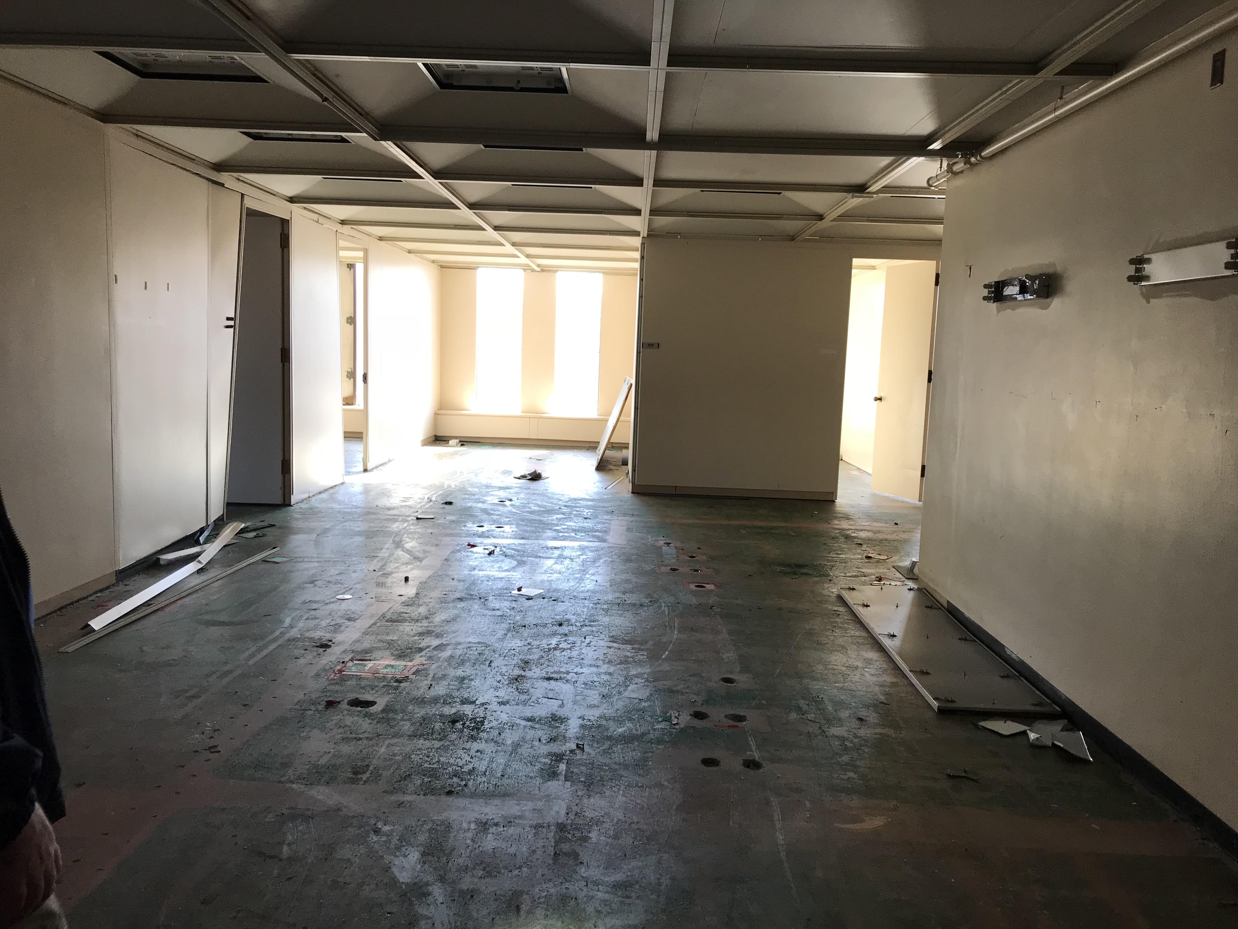 First floor.