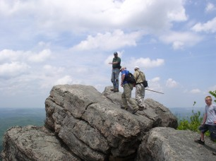 Bad Branch High Rocks is a popular spot with visitors. KSNPC photo.