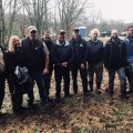 March 28 tree planting Division of Abandoned Mine Lands