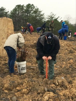 March 29 tree planting