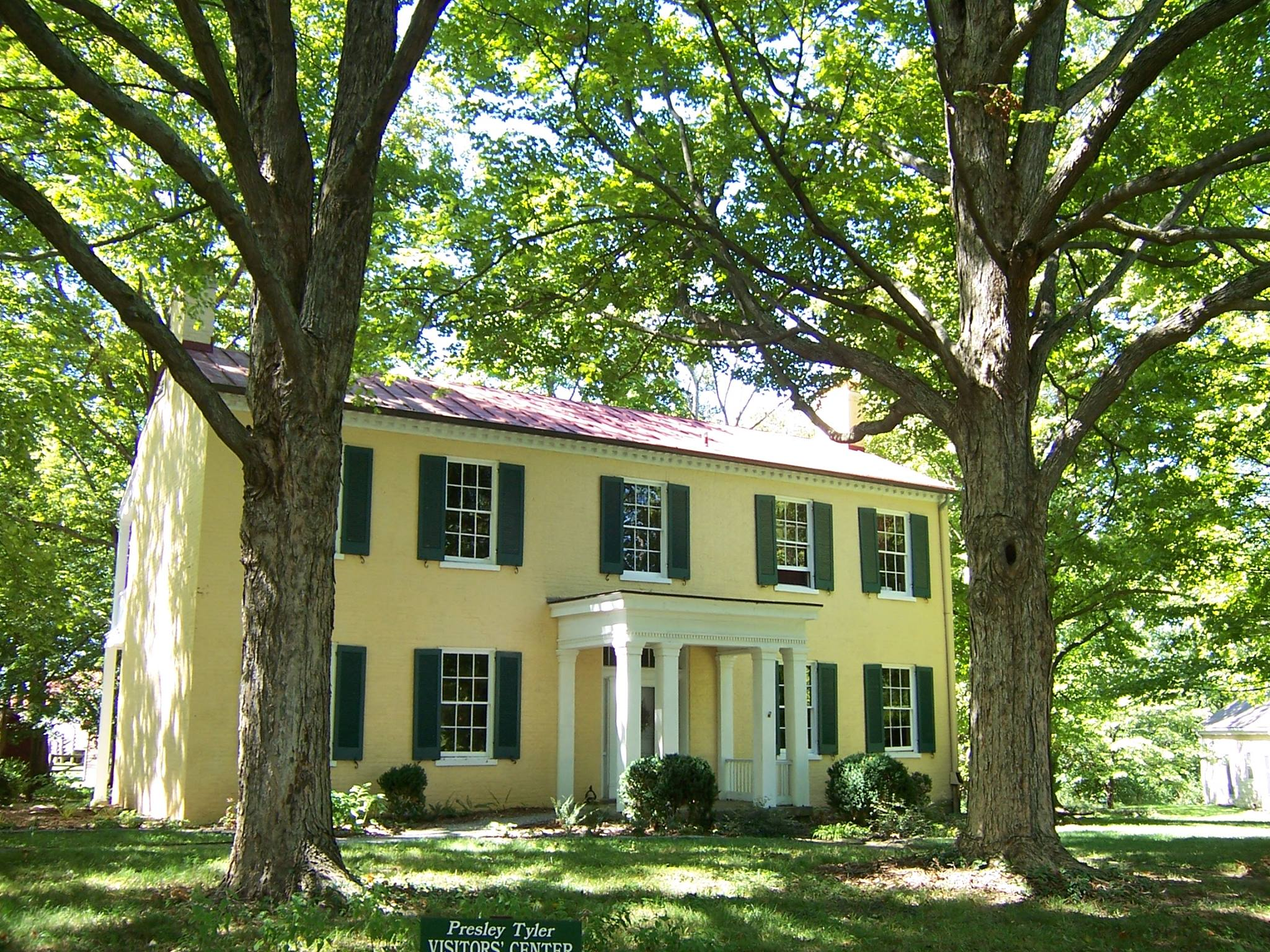 Blackacre State Nature Preserve and Historic Homestead 1844Farmhouse.