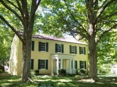 Blackacre State Nature Preserve and Historic Homestead 1844 Farmhouse.