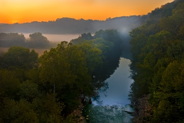 Blue Licks State Park and Nature Preserve in Nicholas County. Photo by Thomas G. Barnes from Kentucky, Naturally book.