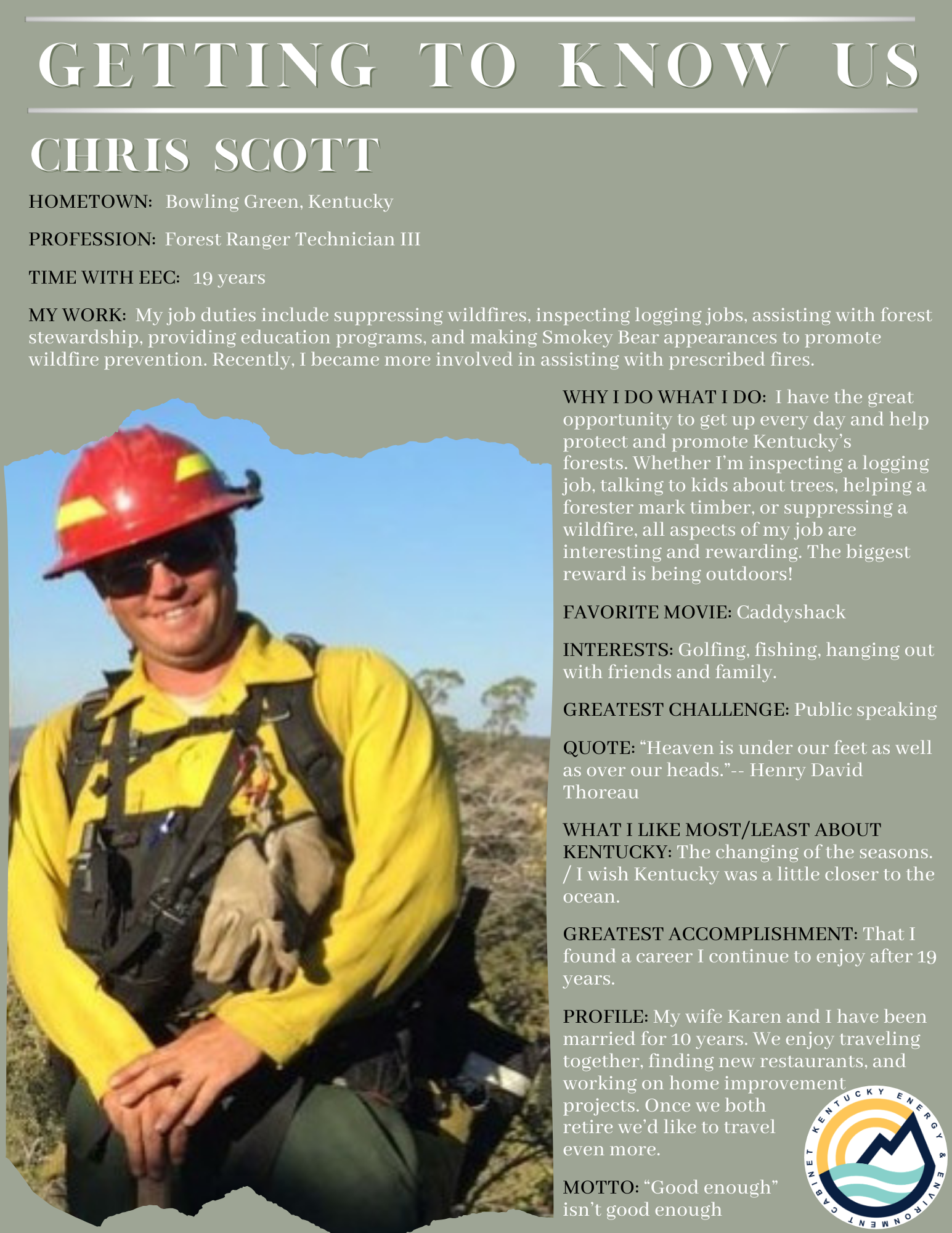 Getting To Know Us: Chris Scott