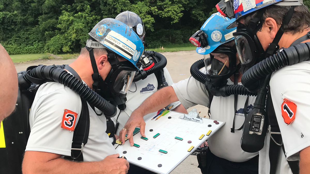 When Mining Disaster Strikes, Rescue Teams At Center Of Emergency Response