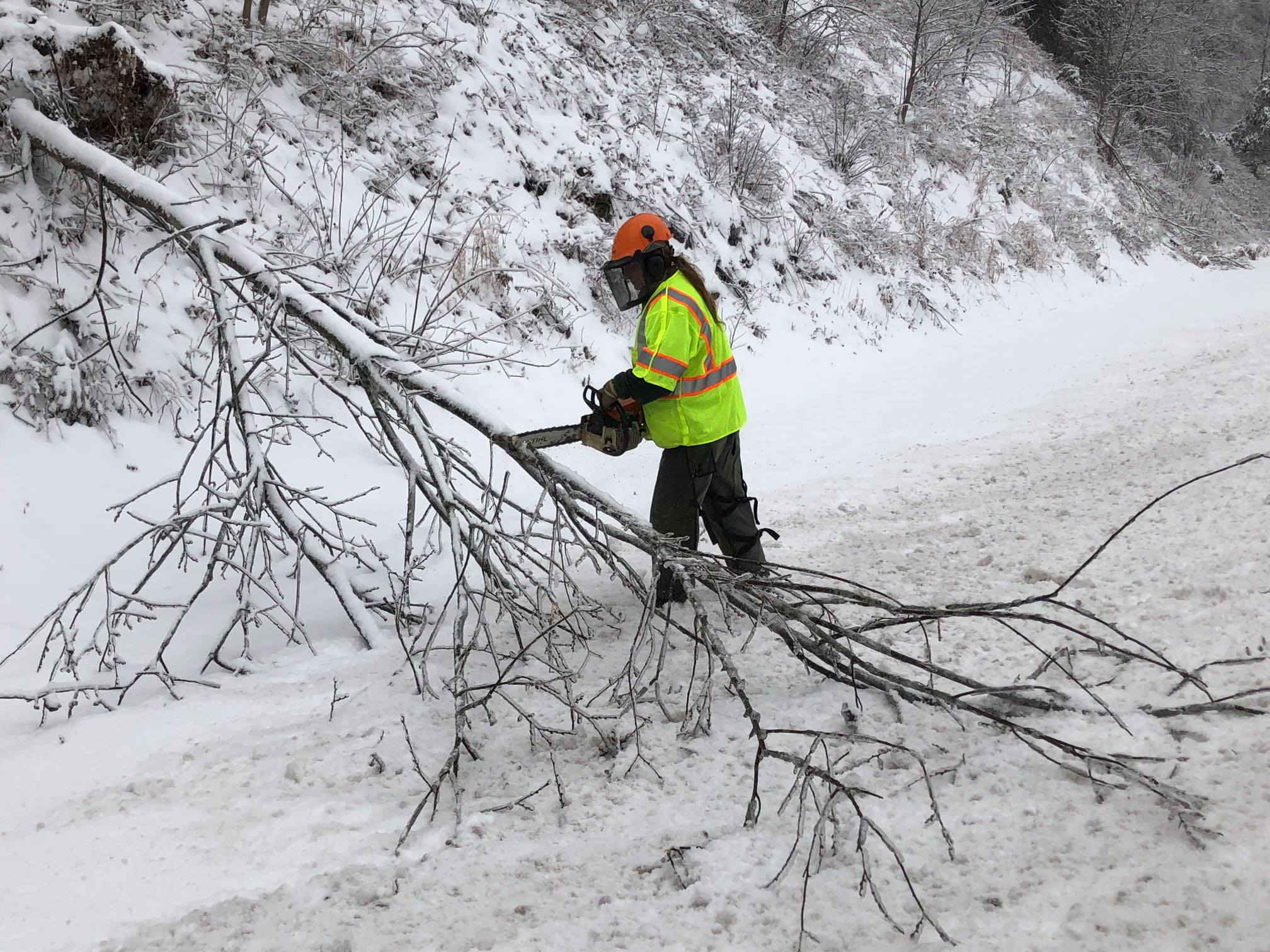 Emergency Operations Center, EEC Staff Play Key Role in Ice Storm Relief