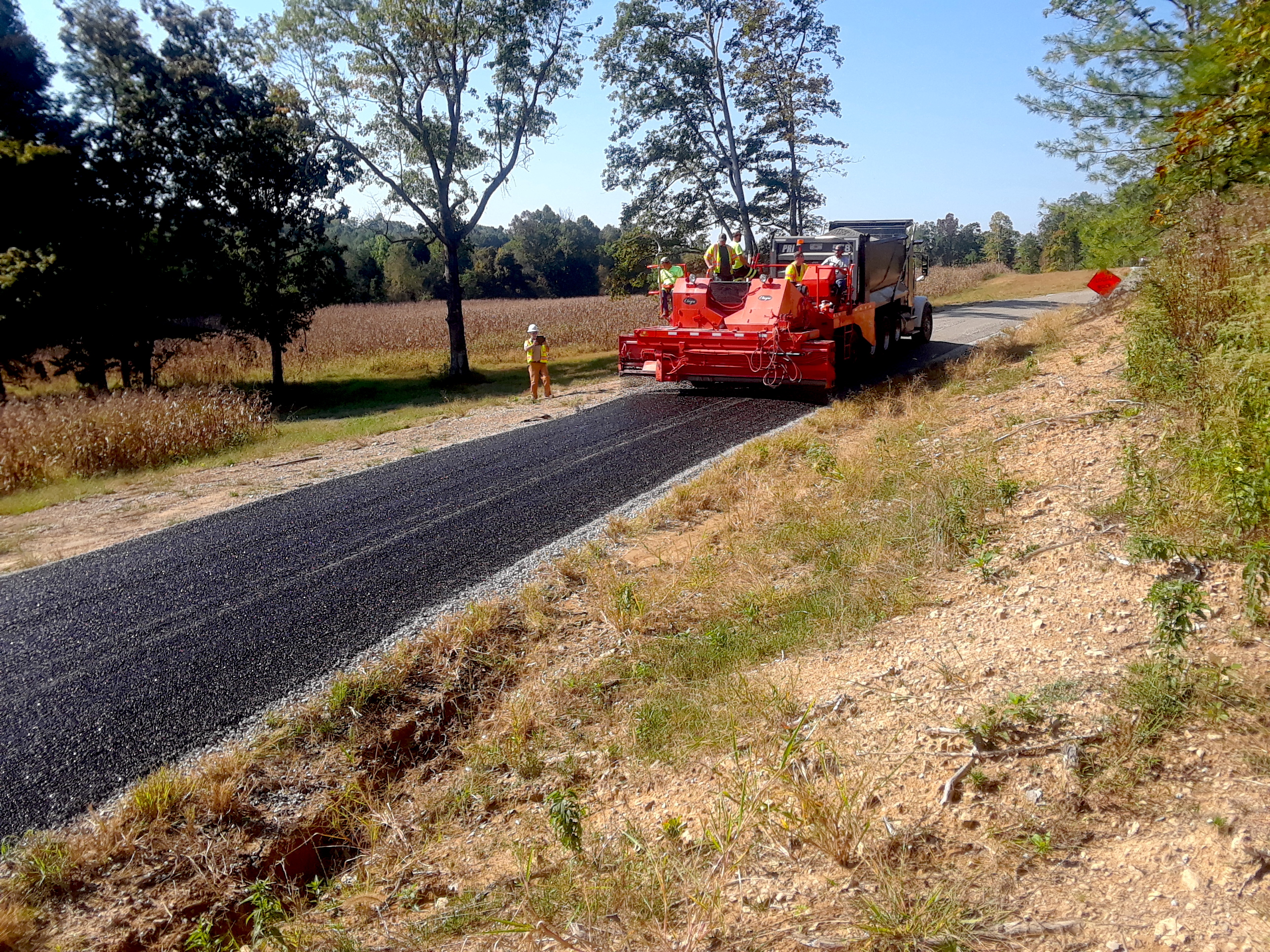 Rubber Modified Asphalt Proves Good for Roads and the Environment