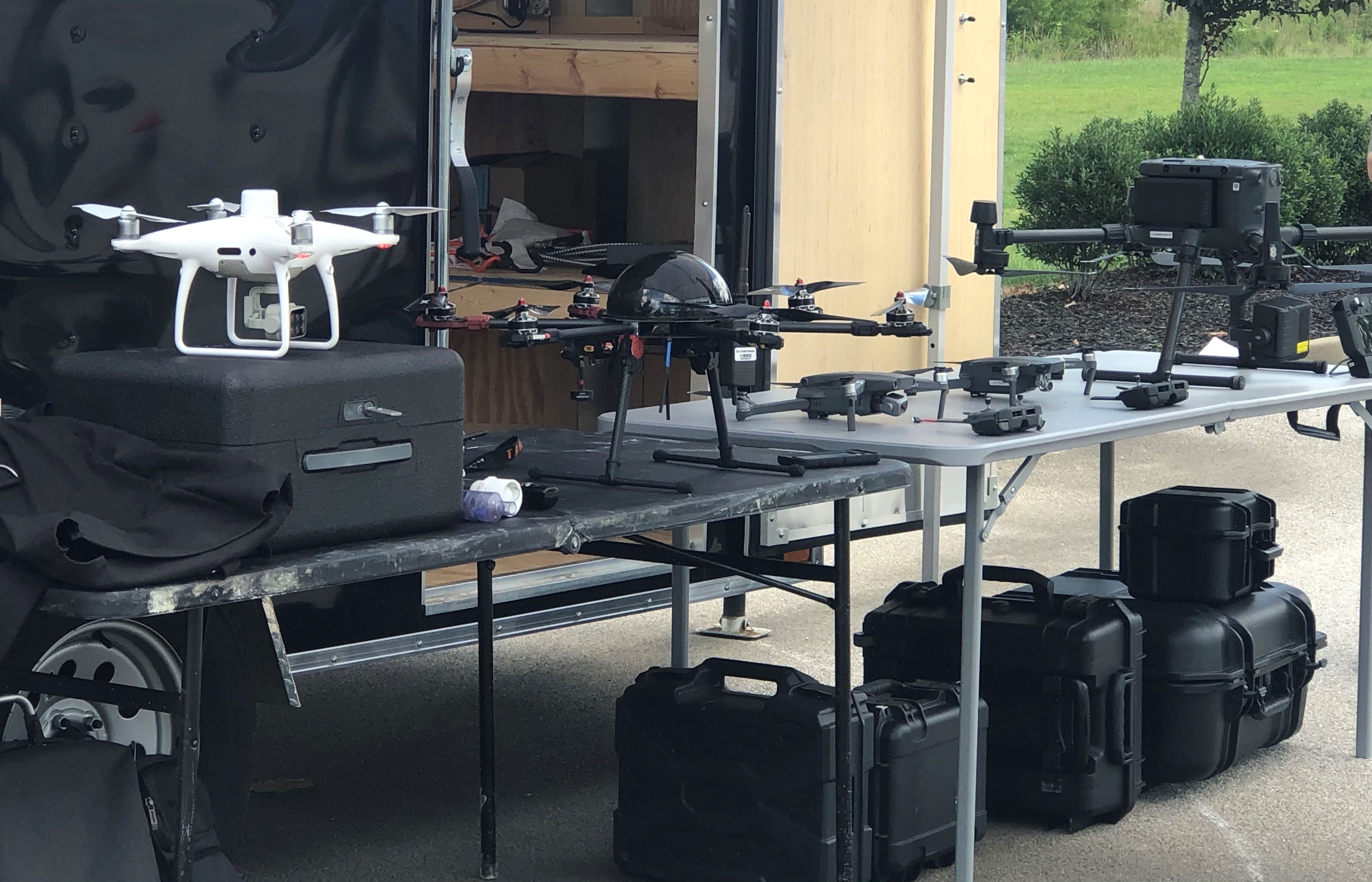 EEC Drone Pilots Showcase Endless Possibilities for UAVs